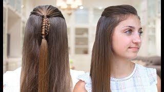 How to Create a Reverse Chinese Ladder Braid | Cute Hair Tutorials