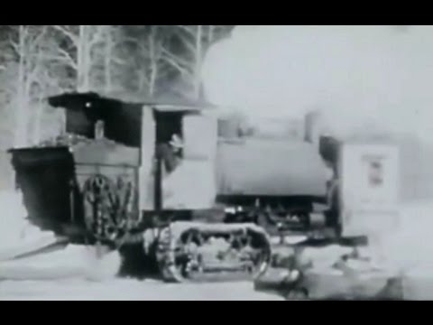 Lombard Steam Log Hauler - Best Of Old Movies