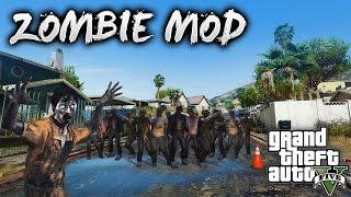 GTA V PC Mods - ZOMBIES MOD! GTA 5 How To Install Simple Zombies [.NET] 1.0.2c (TUTORIAL!)