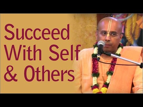 Succeed With Self And Others by Vraj Bihari Prabhu - Prerana Festival ISKCON Chowpatty