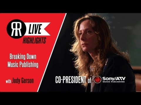 Music Publisher Jody Gerson Breaks Down Music Publishing