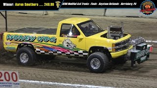 6200 National Modified 4x4 Trucks Pulling at Harrisburg March 2015