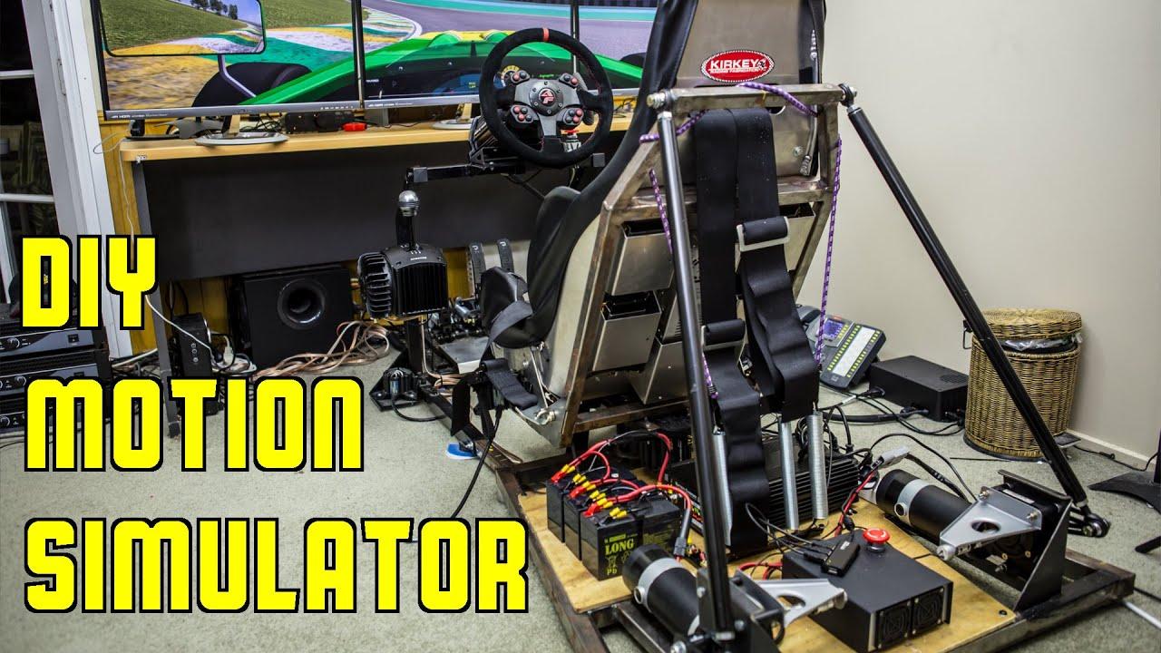 GSCE Forumla 3 @ Cascavel - DIY Motion Simulator and Accuforce