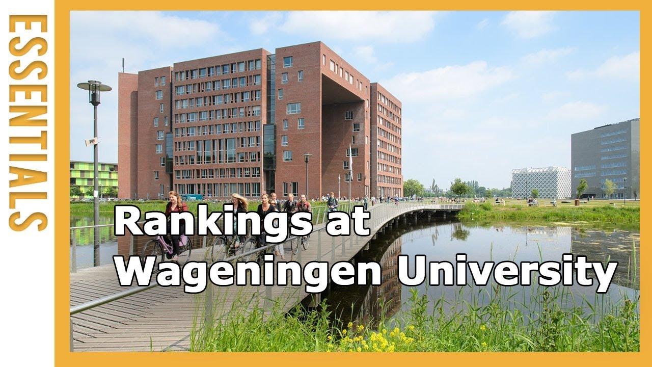 Rankings at Wageningen University & Research   WURtube