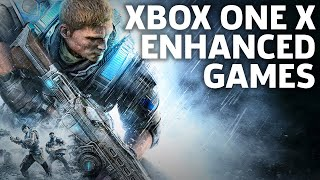 Xbox One X: The Biggest Enhanced Games