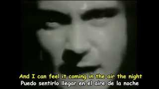 PHIL COLLINS - IN THE AIR TONIGHT - Subtitulos Español & Inglés