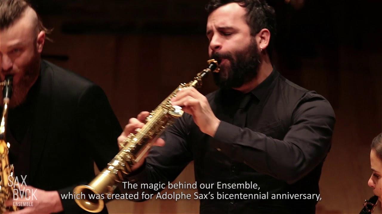 Saxback Ensemble Presentation video