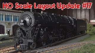 HO Scale Layout Update #17 11/16/17