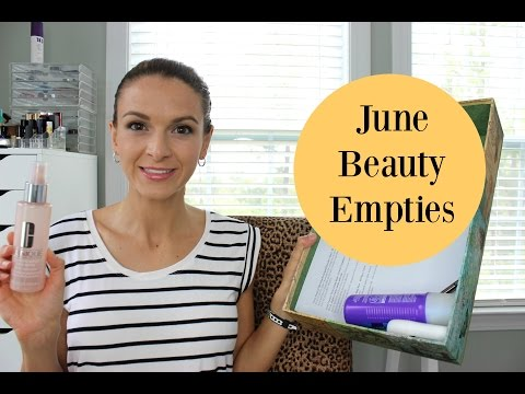 June Beauty Empties 2016