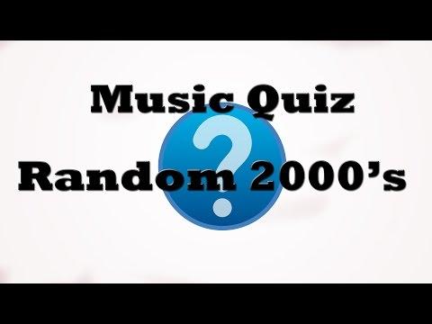 Music Quiz - Random 2000's