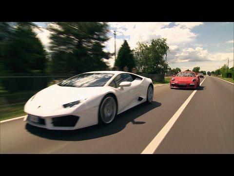 Roadtrip nach Italien: Porsche 911 GT3 RS vs. Lamborghini Huracán - GRIP - Folge 369 - RTL2