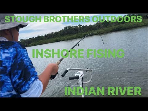 Indian River Fishing - River Breeze Ramp - Edgewater Oak Hill Mosquito Lagoon