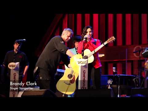 BRANDY CLARK - Ryman Stage