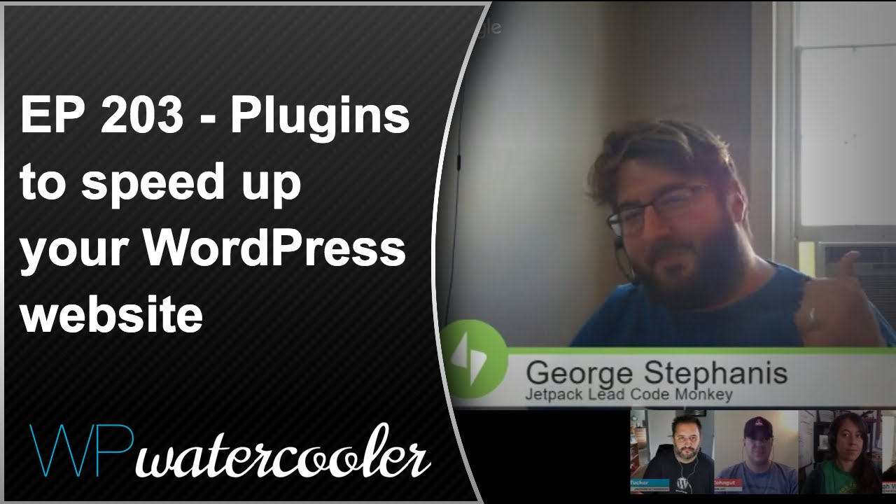 EP203 - Plugins to speed up your WordPress website