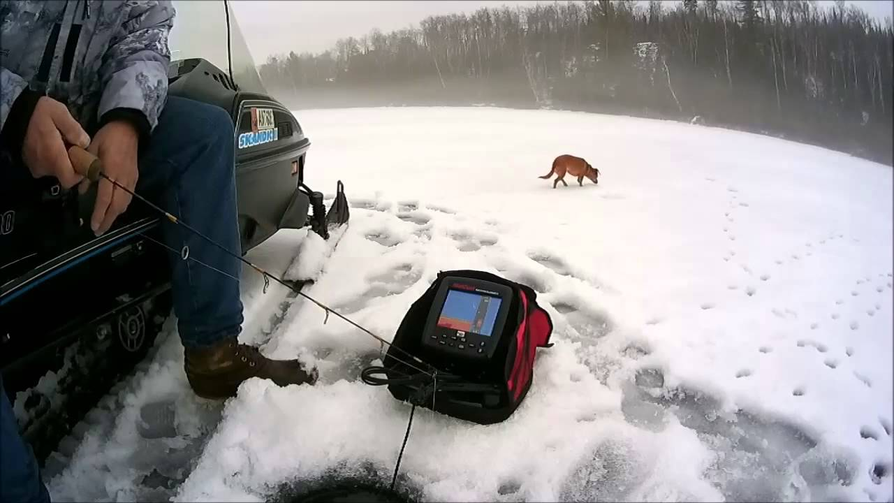Using a marcum lx 6 youtube for Marcum ice fishing