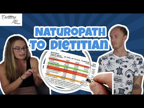 Dear Dietitian: From Naturopath To Dietitian - Scientific Co