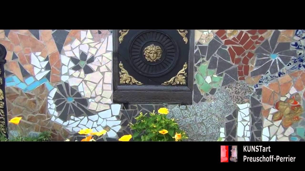 Mein Schöner Dachgarten Mosaik Kunst V IA PreuschoffPerrier - Mosaik fliesen draußen