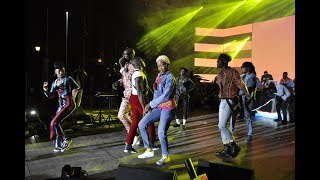 Performances by Yemi Alade, Sauti Sol, Khaligraph Jones and Nyashinski at Choma Na Ngoma concert.