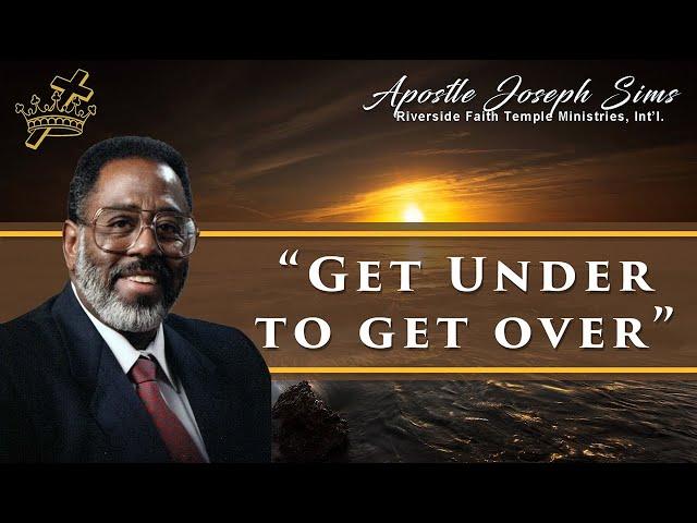 Audio Sermon - Get Under To Get Over - Hebrews 3:1-10