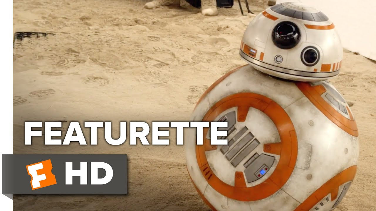 Star Wars: The Force Awakens Featurette - BB-8 From Sketch to Screen (2015) - John Boyega Movie HD