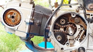 How To Change Timing Chain In CD-70/SR-70cc Motorcycle In Urdu/Hindi