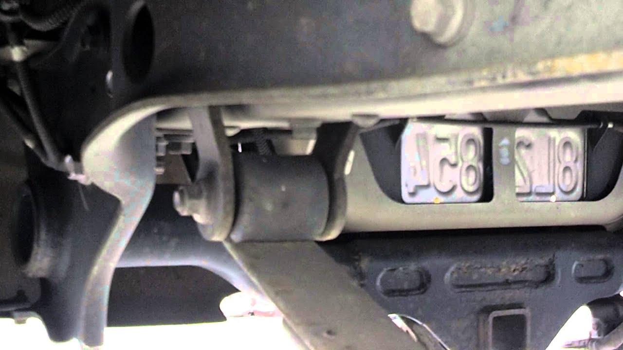 2007 Toyota Tundra Rear Shackle Lift 3 Quot Part 1 Youtube