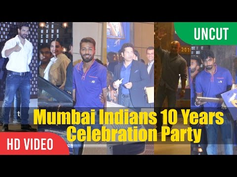 UNCUT - Mumbai Indians 10 Years Of Celebration Party | Nita And Mukesh Ambani Inside Party