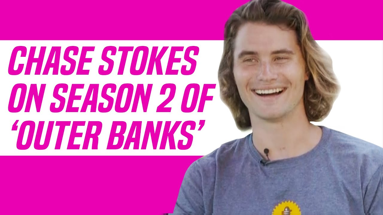 Chase Stokes Talks Season 2 of Outer Banks, Fan Theories & More