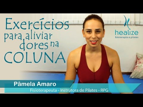 Pilates em casa: exercícios para aliviar dores na coluna