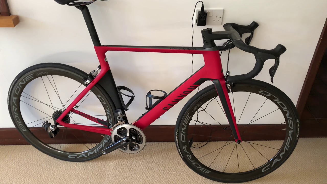 Whats my Canyon Aeroad like after a year in storage!