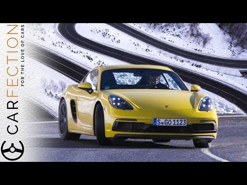 Porsche 718 Cayman GTS: Did We Find The Greatest Road In The World? - Carfection
