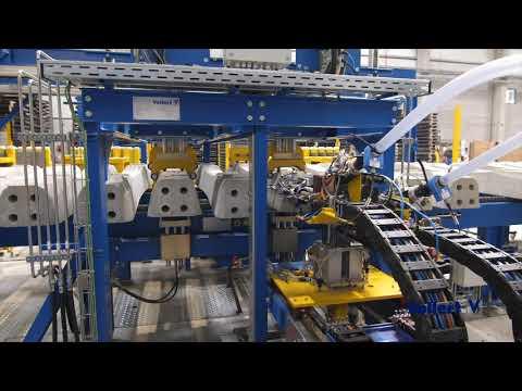 Betonschwellenproduktion/Concrete Sleeper Production Leonhard Moll   Vollert Anlagenbau