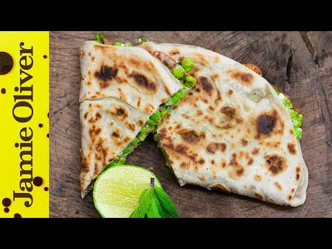 Pea & Feta Quesadillas Recipe