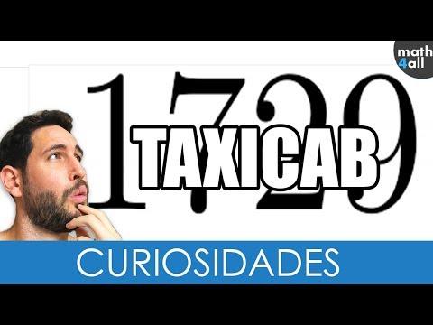 Números Taxicab - HISTORIA REAL 😲