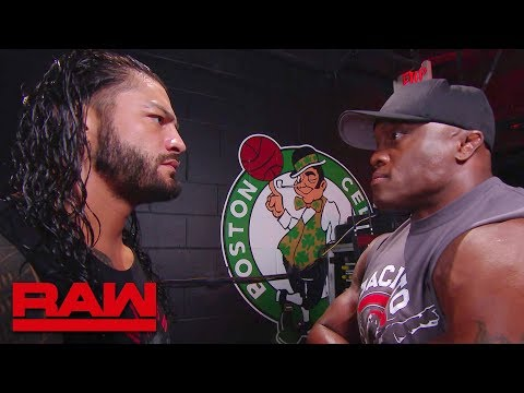 Bobby Lashley Confronts Roman Reigns Backstage: Raw, July 9, 2018