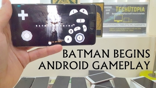 BATMAN Begins Android Gameplay using Dolphin Gamecube emulator/30FPS best settings/Snapdragon 821