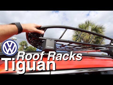 2018 VW TIGUAN - Roof Racks   Quick Look   Volkswagen Accessories OEM