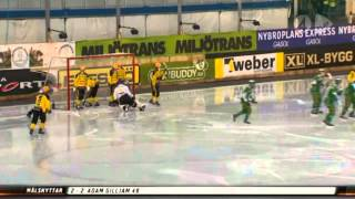 Kvartsfinal 1: Hammarby Bandy - Vetlanda BK [Höjdpunkter]