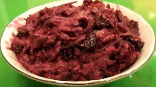 Салат с черносливом ★ рецепт салата из свеклы с черносливом