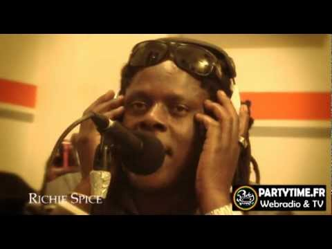RICHIE SPICE - Freestyle at PartyTime 2012