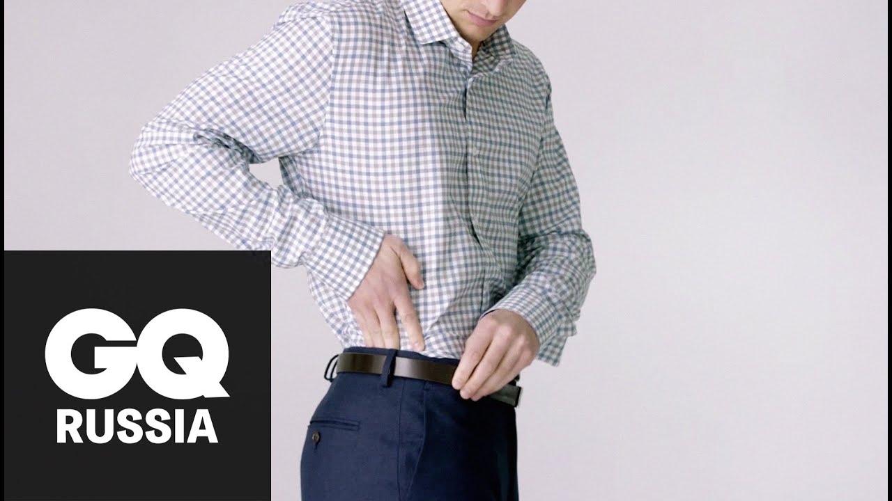 Мужская приталенная рубашка в узор NP 1280 - YouTube
