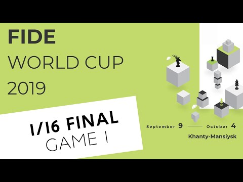 FIDE World Cup 2019. Round 3. Game 1