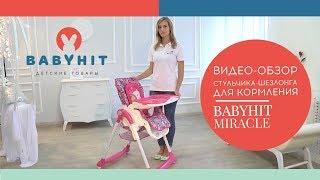 Видеообзор стульчика-шезлонга Babyhit Miracle