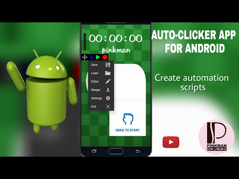 Autoclicker App for Android( android auto ) - 2017