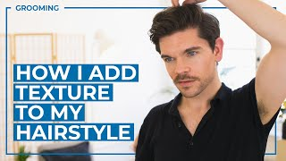 Textured Hairstyle How To | Men's Hair Tutorial