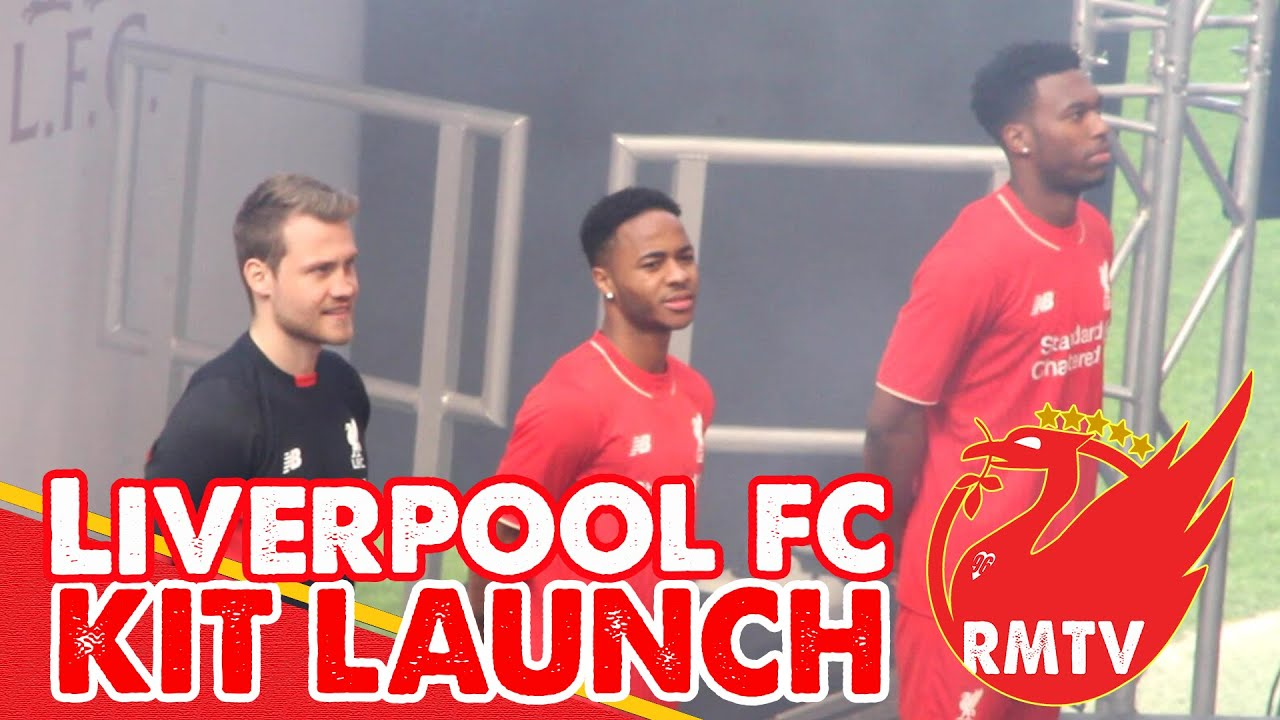 Liverpool FC 2015/2016 Kit Launch | Behind the Scenes ...