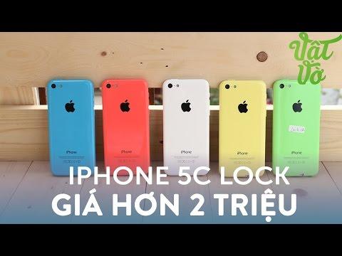 Vật Vờ| Trên tay iPhone 5c lock: giá giờ chỉ còn hơn 2 triệu