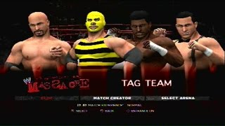 Ring Of Power: Blood In The Water 2015 Part 1- The Stinger Bees vs. Disco & Vegas