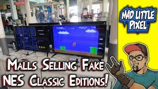 Fake Nintendo Systems Sold In Malls! The NES Classic Clone Wars!