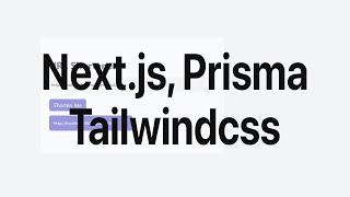 Next.js (react), Prisma and Tailwindcss URL Shortener Application